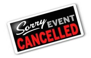 Evenement cancelled